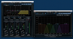 Blue Cat' MB-7 Mixer crossovers check