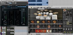 Blue Cat's MB-7 Mixer 2 hosting a VSTi inside Pro Tools 11