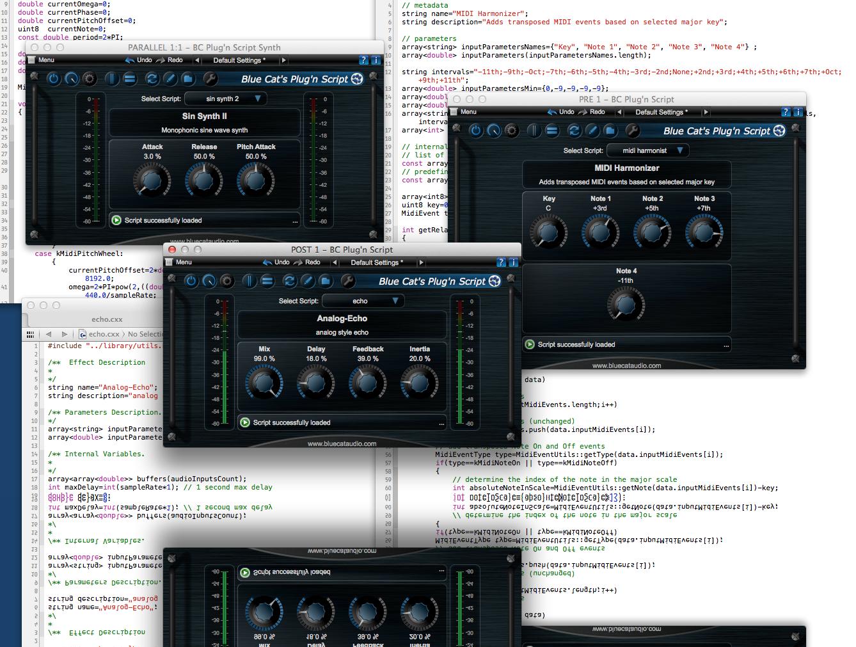 Blue Cat S Plug N Script By Blue Cat Audio