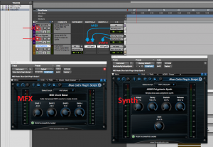 Pro Tools MFX - Routing