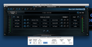 Mono to Stereo Configuration for Guitar Processor
