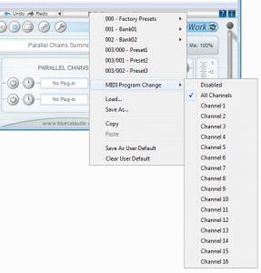 MIDI Program Change Support for Blue Cat's PatchWork