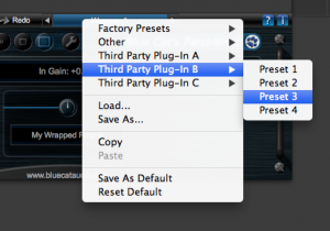 Blue Cat's PatchWork Presets Manager