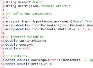 Tremolo Script Sample