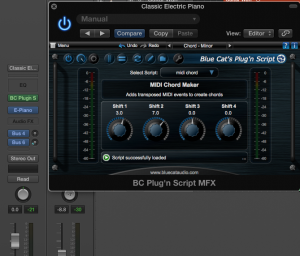 Write and use your own MIDI FX inside Logic Pro X