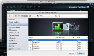 Plug-Ins can be organized nicely using custom icons on Mac