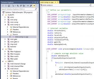 Native Scripts in Visual Studio 2015