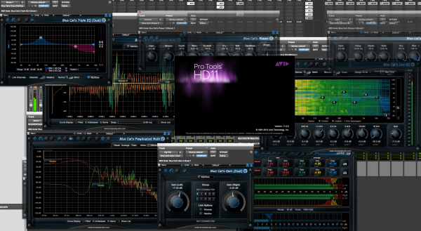 Blue Cat Audio Updates 12 Audio Plug-Ins (6 Free), with Pro Tools 11 Support (2013/06/21)