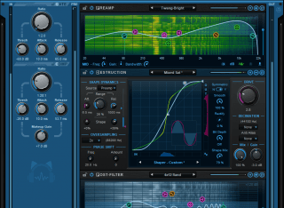 Blue Cat's Axiom - Use the Amp Editor to create your own amp simulations (full edit mode shown here)