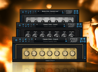 Blue Cat's Free Amp - The Free Guitar Amp Sim Plug-In (VST, AU, AAX, VST3) (Freeware)