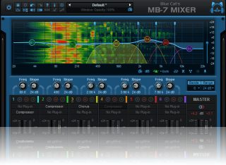 Blue Cat's MB-7 Mixer - Multi Band Mixing Plug-in and VST/VST3/AU Host