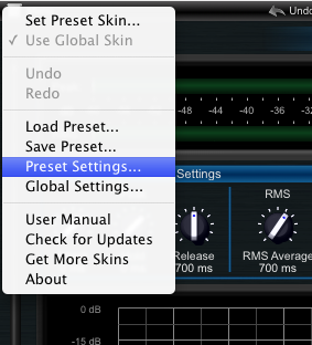 Step 03 - Open the DPMP preset settings window