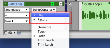 Step 05 - Enable Automation recording on the source track