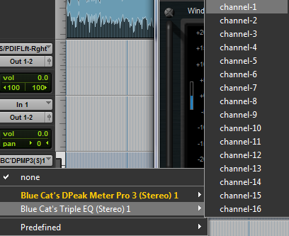 Step 05 - The output of the MIDI track should be assigned to the input of the destination plug-in